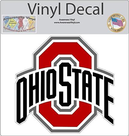 2x got ohio state Sticker Die Cut Decal vinyl