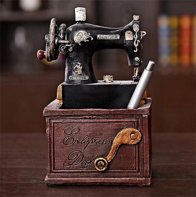 Longless País americano retro antigua máquina de coser ...