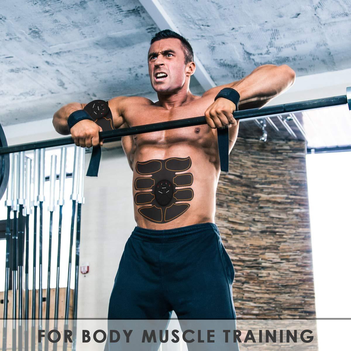 Massage Muscles Kit Muscular Stimulator Arm gluteal apparatus Free Legs Thighs kames skoss prestige Abdominal Belt Electrostimulation EMS trainer abdominal