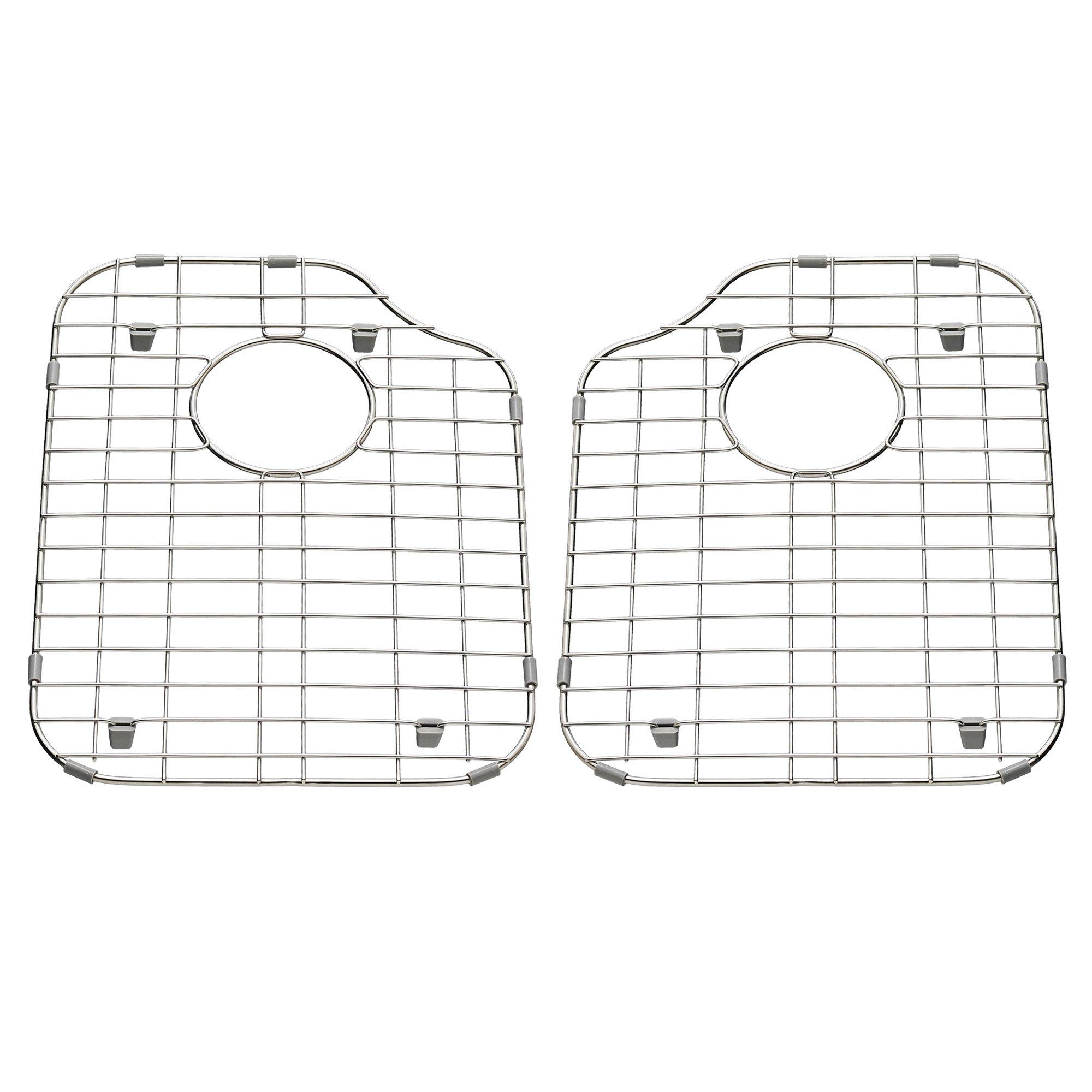 American Standard 7436000.075 2-Pack 11.93-In X 16.73-In Sink Grids, Stainless Steel