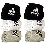 manan enterprices Men's Cotton Ankle Length Towel Socks Multicolour_Free Size - Set of 3