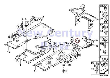 amazon com bmw genuine mounting parts engine compartment underbody engine parts bmw genuine mounting parts engine compartment underbody shield deflector lip x1 28i x1 28ix x1 35ix