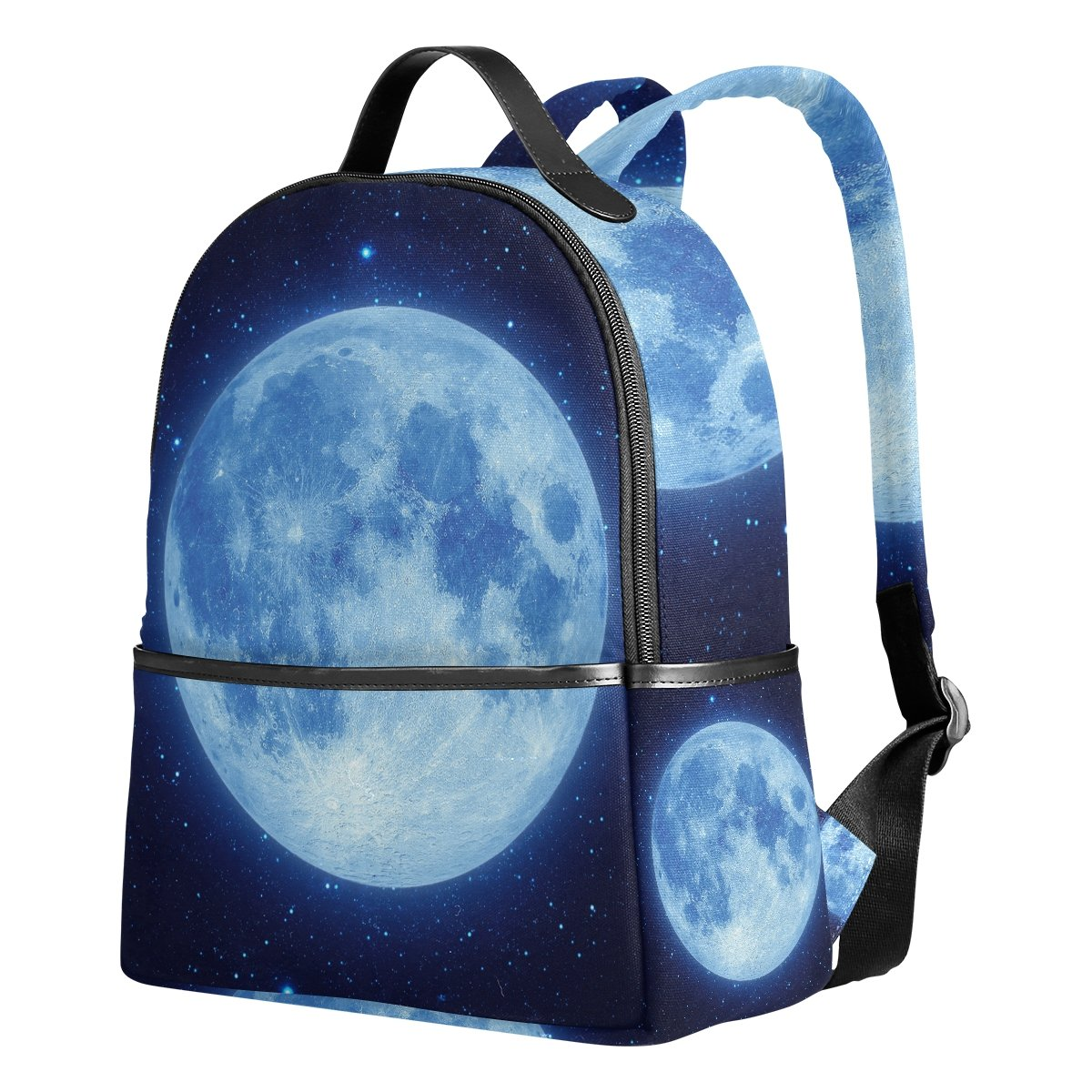AHOMY Canvas Sports Gym Bag Galaxy Star Space Starry Universe Travel Shoulder Bag