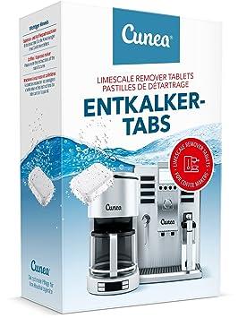 Cunea entkalke rtabs entkalke rtabs para máquinas de café automáticas Café y hervidor de agua 55 Tabs: Amazon.es: Hogar