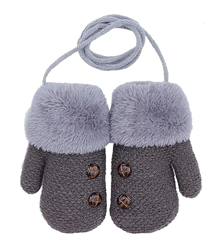 new Gloves for boys and girls warm gloves for children gloves for hanging neck gloves