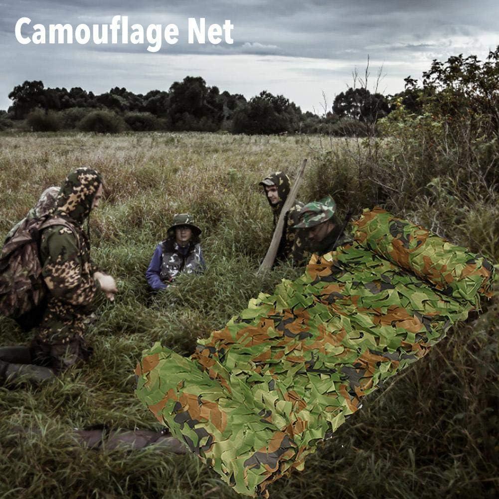 f/ête Couverture Maille d/écoration Blue-Yan Filet de Camouflage Pare-Soleil Rouleau de Vrac Camping ext/érieur Store pour la Chasse Filet de Camouflage