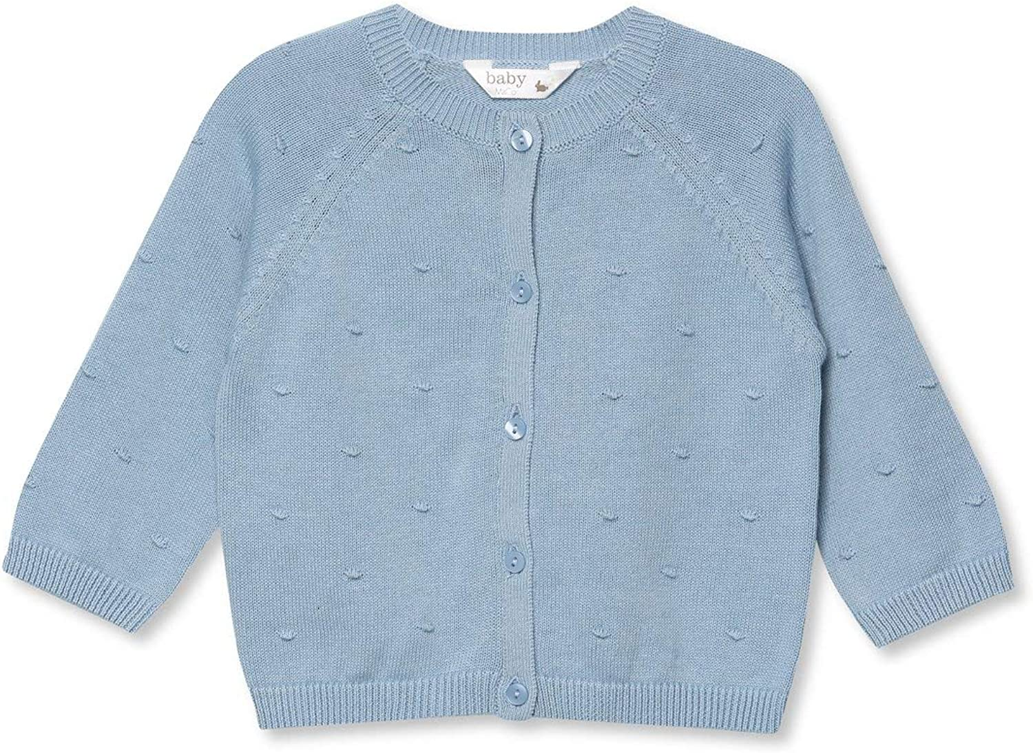 M/&Co Baby Cardigan Bobble Knit