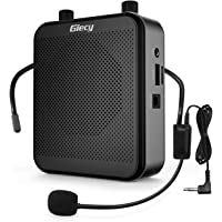 Giecy Voice Amplifier Portable Bluetooth 30W 2800mAh Rechargeable PA System Speaker for Multiple Locations Such as…