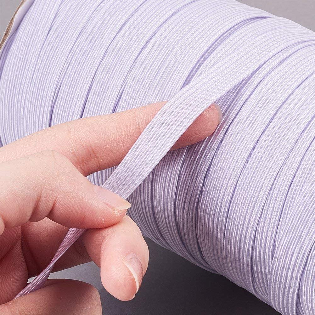 cordino elastico per gonne e pantaloni 1 m 11 mm nero maglia nastro elastico per cucito e artigianato . Trimming Shop bobina di fascia elastica rotonda per abbigliamento