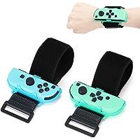 Just Dance 2021 Wrist Band - Animal Crossing Dance Band Strap for Nintendo Switch Joy Con - Adjustable Hook Loop Elastic…
