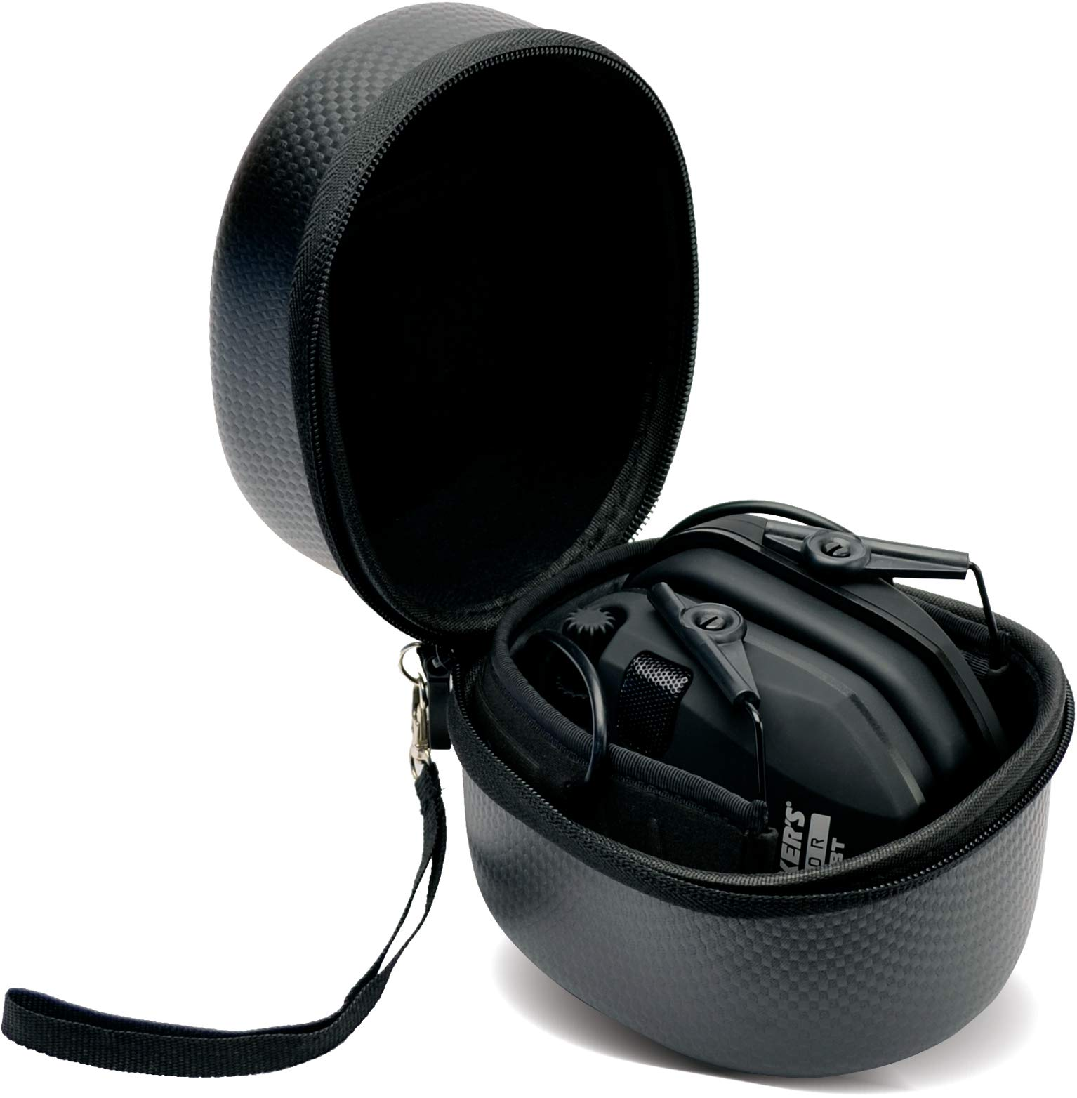 Walkers Razor Slim Electronic Shooting Hearing Protection Muff (Black) with Protective Case by Walkers (Image #7)