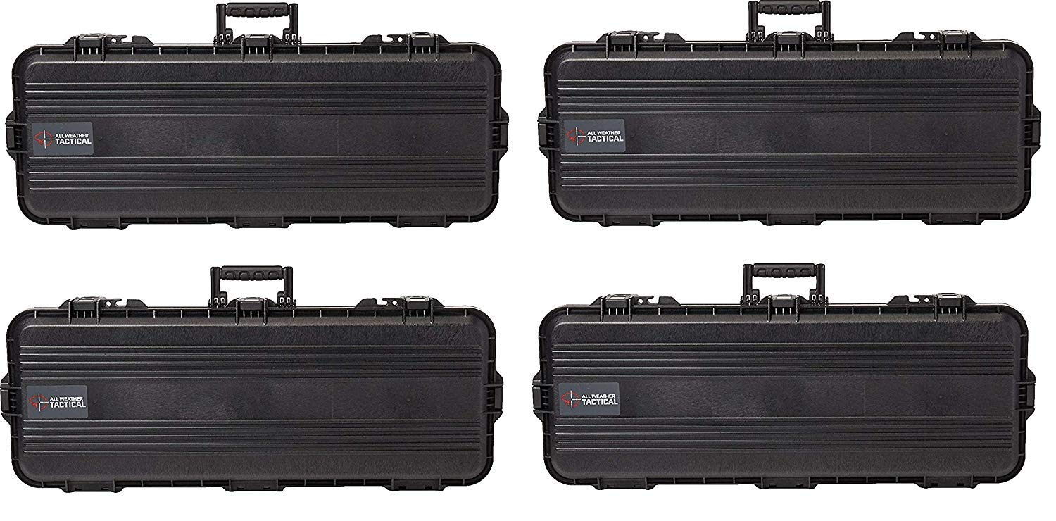 Plano All Weather Tactical Gun Case, 36-Inch (Pack of 4) by Plano