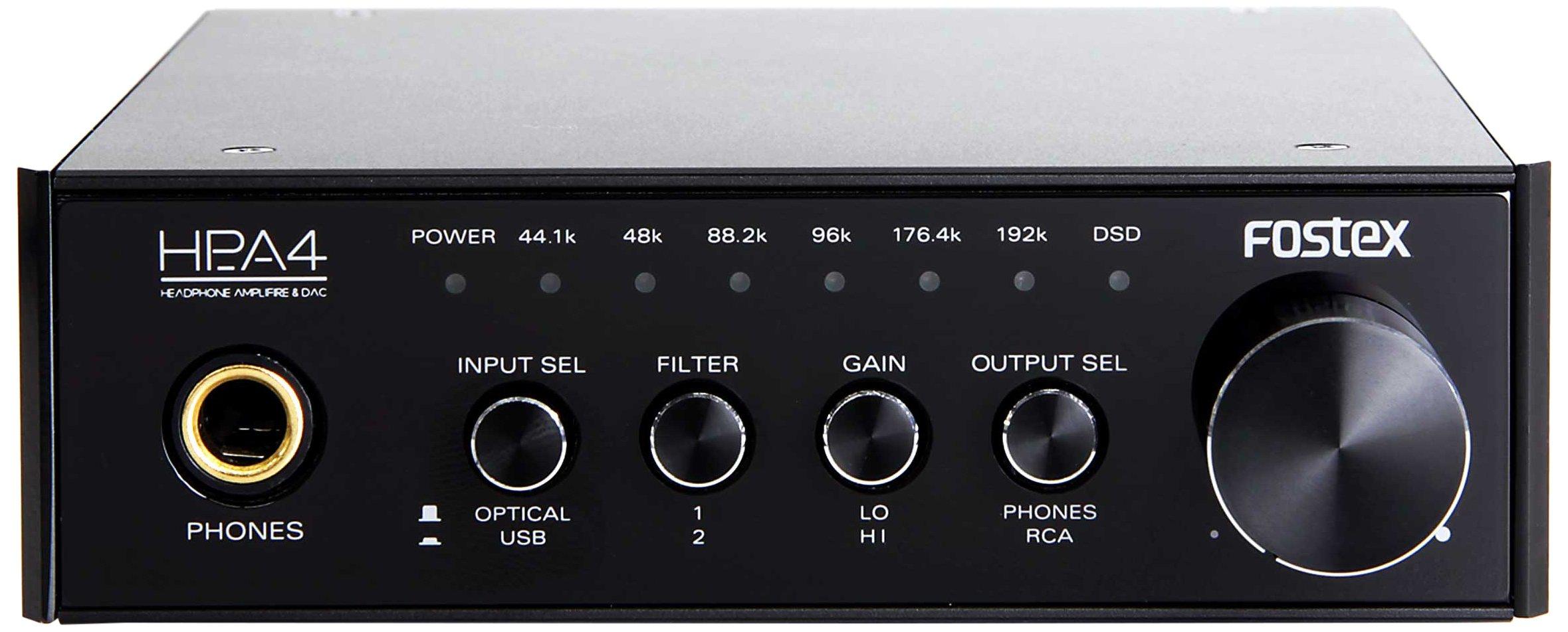 Fostex HP-A4 24-Bit Digital to Analog Converter/Headphone Amplifier