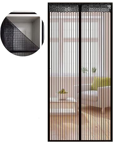 Icegrey Mosquitera Magnética Para Puertas Cortina Para Puerta Para Protección Contra Insectos Cinta Adhesiva Instalación,