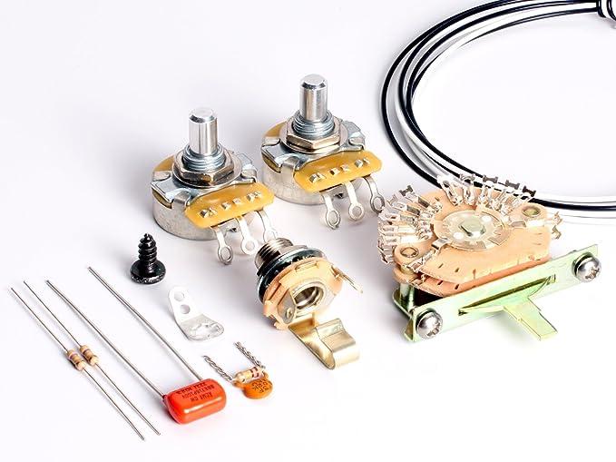 toneshapers Verkabelung Kit, Telecaster, HH1 (Big Apple – benötigt 4 ...