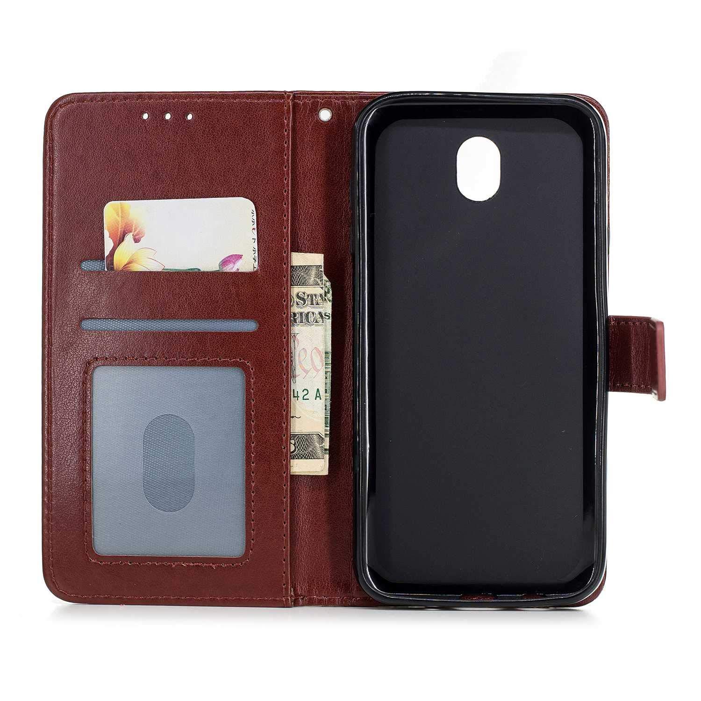 DENDICO Custodia iPhone 6 Plus / 6s Plus Portafoglio Flip Pelle