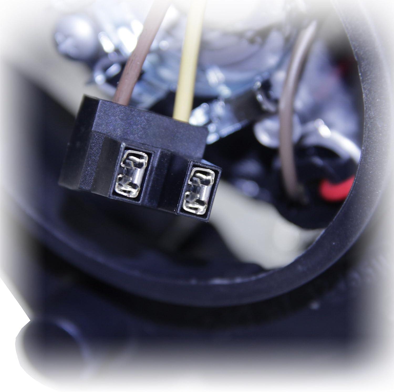 mit Nebelscheinwerfer mit E-Pr/üfzeichen, 1x Scheinwerfer Hauptscheinwerfer H7//H4 rechts