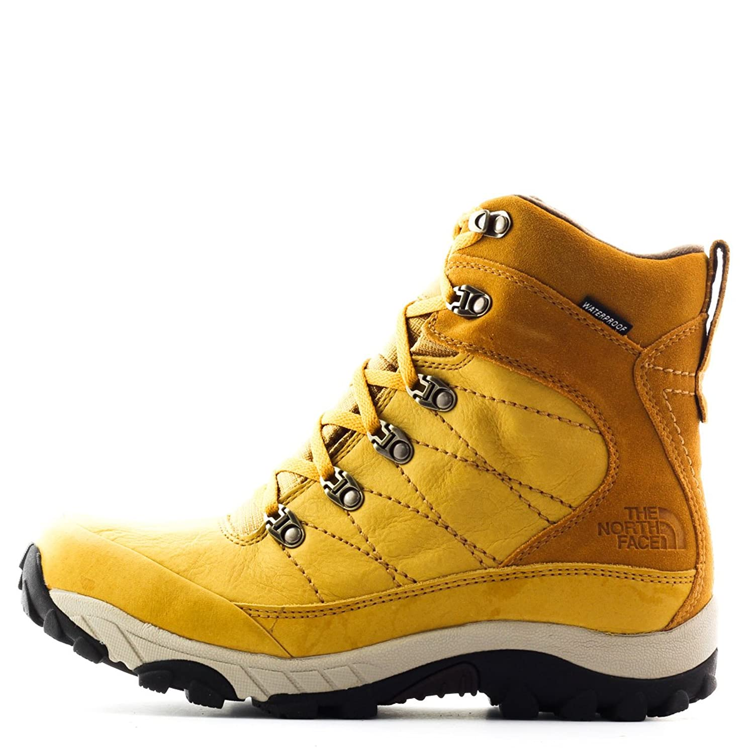 The North Face MEN M CHILKAT LEATHER SPUCE YELLOW 10 SNEAKERS