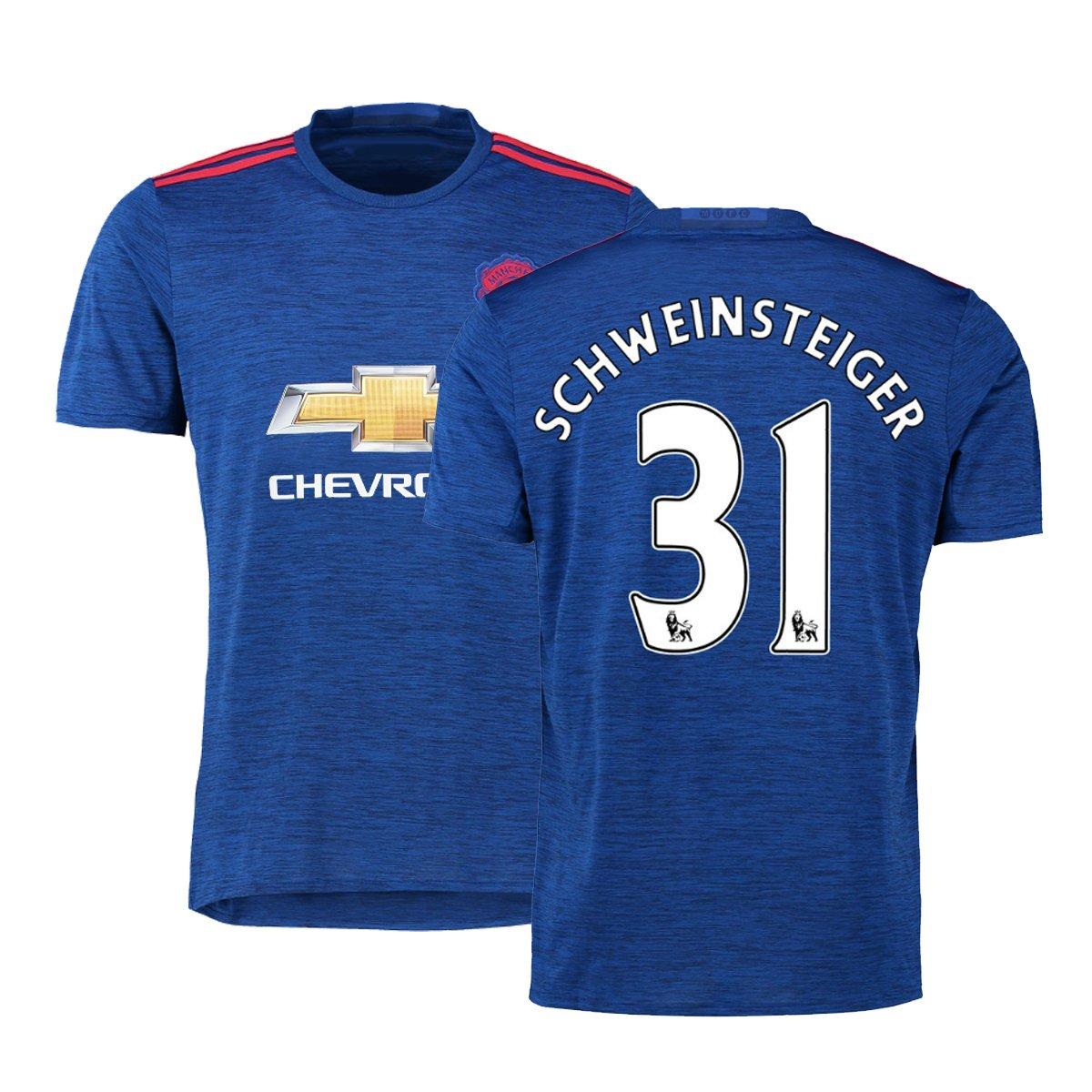 0cdc50fd FC Football Jersey Mens Manchester United Soccer Jersey #31 Schweinsteiger  Blue hot sale