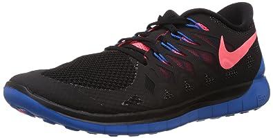Nike Free 5 0, Chaussures de Running Mixte Adulte, Noir (Black/hypr