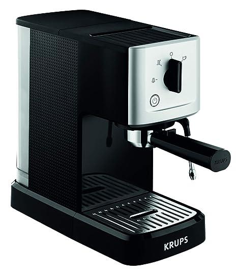 Krups XP3440 Máquina espresso, 1500 V, 1.1 L, acero inoxidable ...