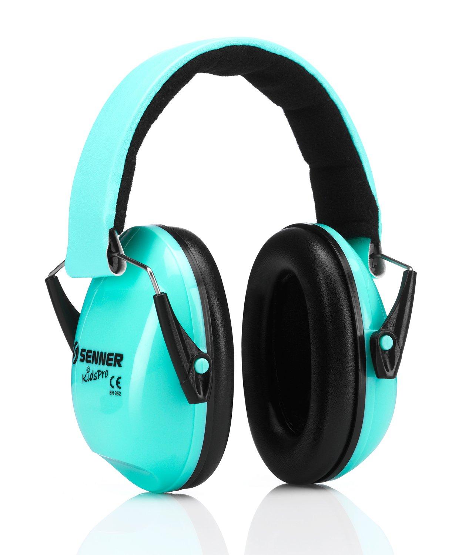 Senner KidsPro - Gehörschutz für Baby und Kinder. Babys ab 12 Monaten, Kinder bis 16 Jahre, mitwachsend (mint) A2