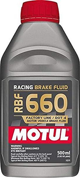 MOTUL RBF 660 Racing 0,5 L de líquido de Frenos