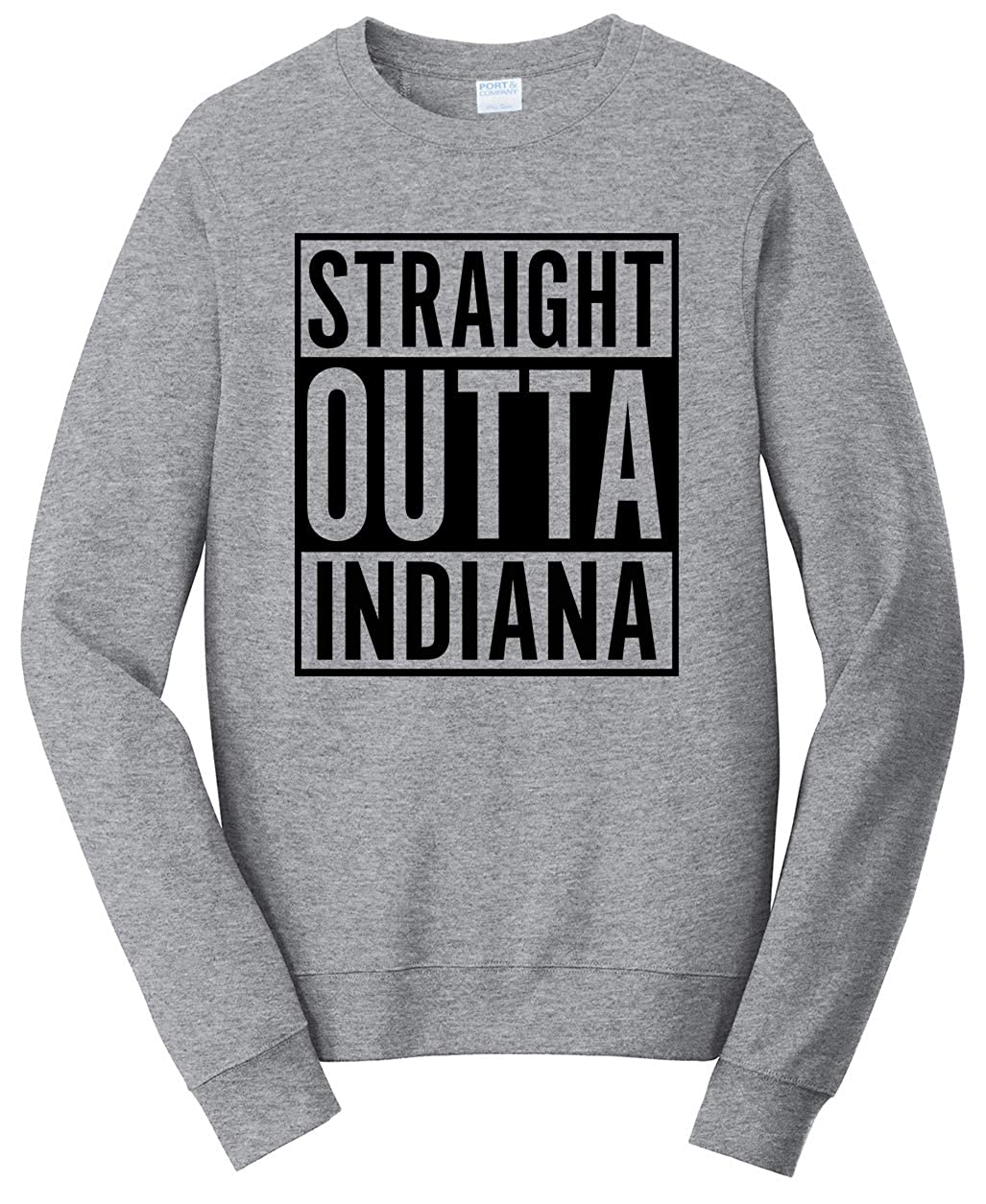 Tenacitee Babys Straight Outta Indiana Shirt
