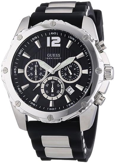 Guess Reloj de cuarzo Man Vertigo W0167G1 45 mm
