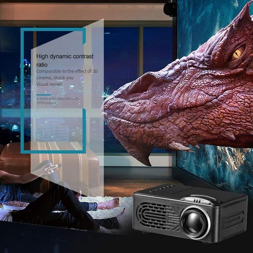 WHLDCD Proyector Mini pequeño proyector de conferencias para el ...
