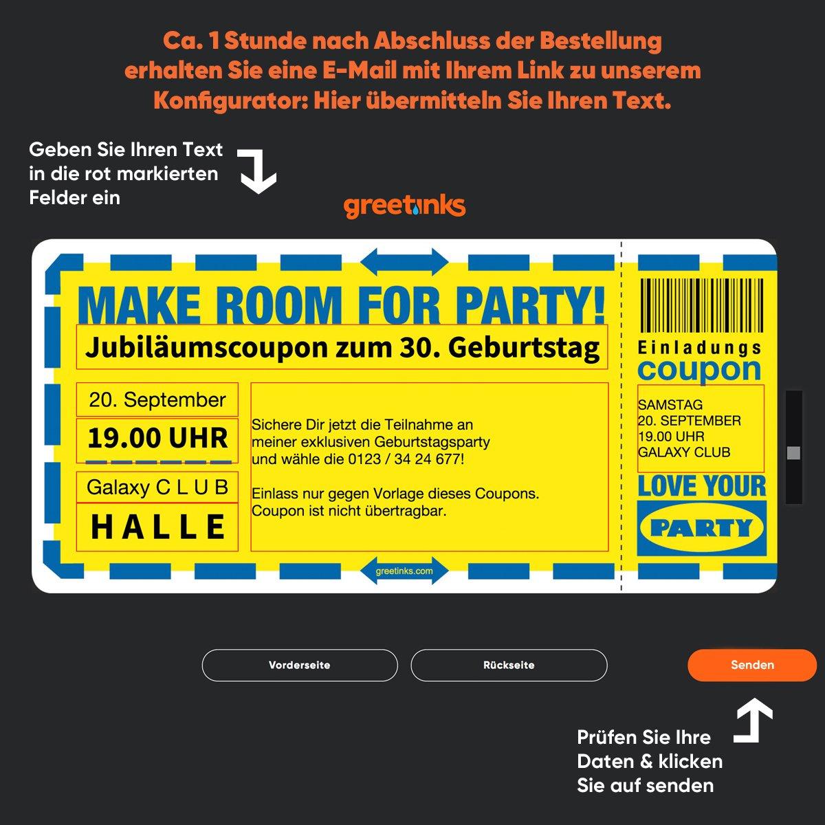 Einladungskarten zum Geburtstag - - - Schwedische Party   40 Stück   Inkl. Druck Ihrer persönlichen Texte   Individuelle Einladungen   Karte Einladung B01N9CSMAC | Vollständige Spezifikation  | Deutschland Online Shop  | Guter Markt  2e7b3b