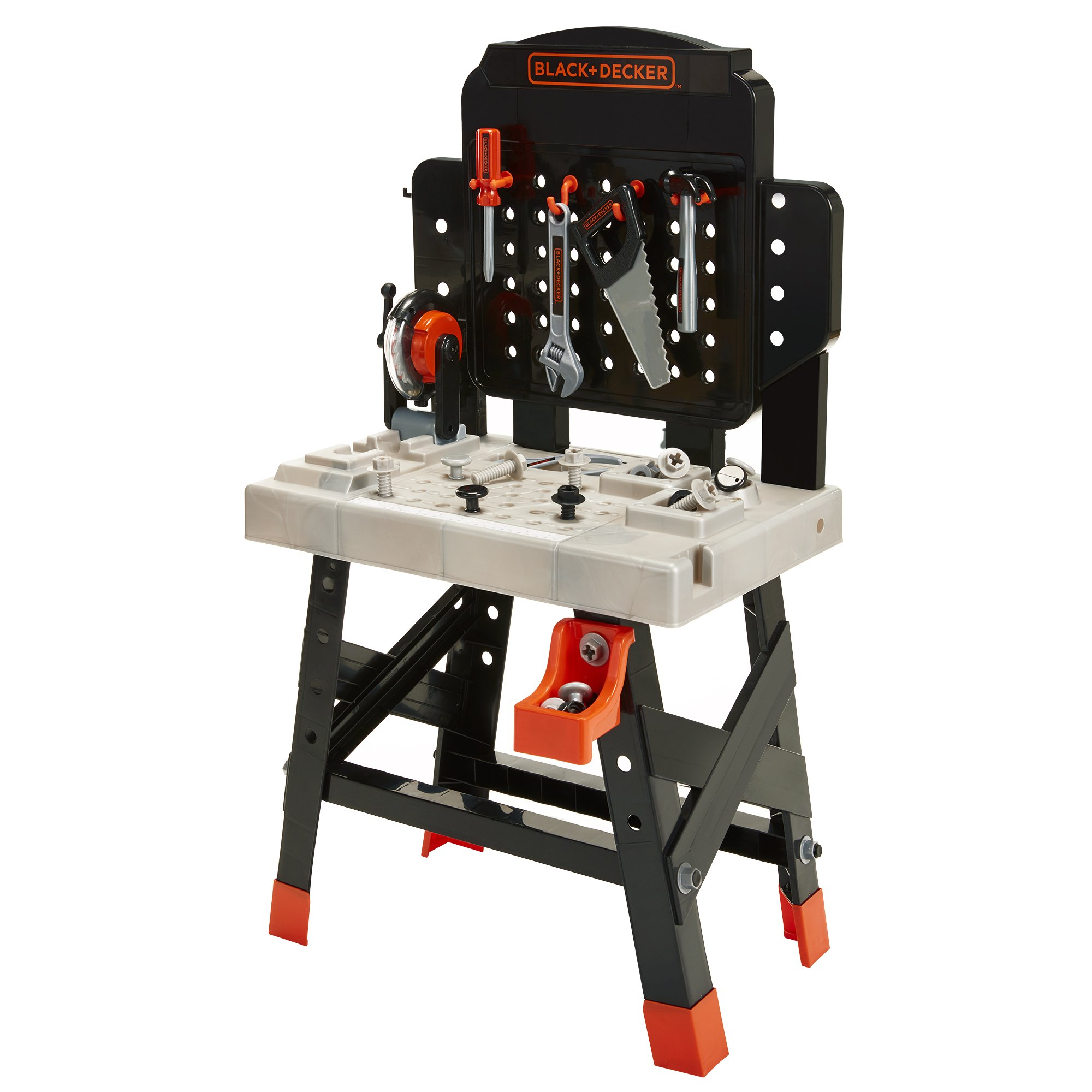 BLACK+DECKER 71382 Jr. Mega Power N' Play Workbench with Realistic Sounds! - 52 Tools & Accessories by BLACK+DECKER (Image #5)