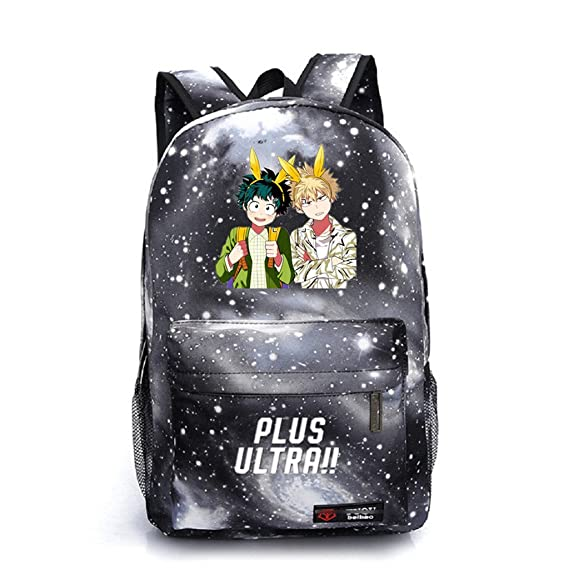 Amazon.com: Siawasey My Hero Academia Anime Boku no Hero Academia Cosplay Backpack Daypack Bookbag School Bag: Toys & Games