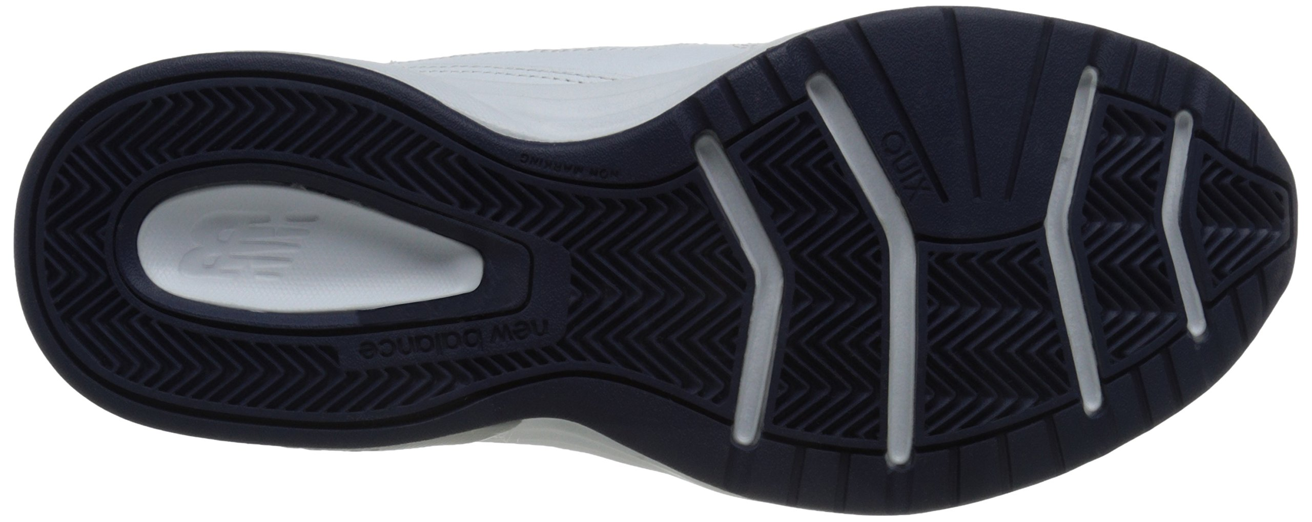 New Balance Men's MX623v3 Casual Comfort Training Shoe,  White/Navy, 8 M US by New Balance (Image #3)