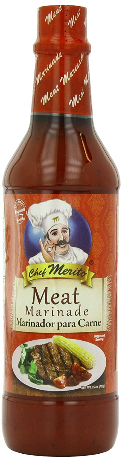 Chef Merito Marinade, Meat, 25 Ounce