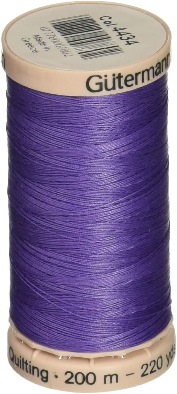 220 Yds Parma Violet #4434 Quilting Thread 200 M