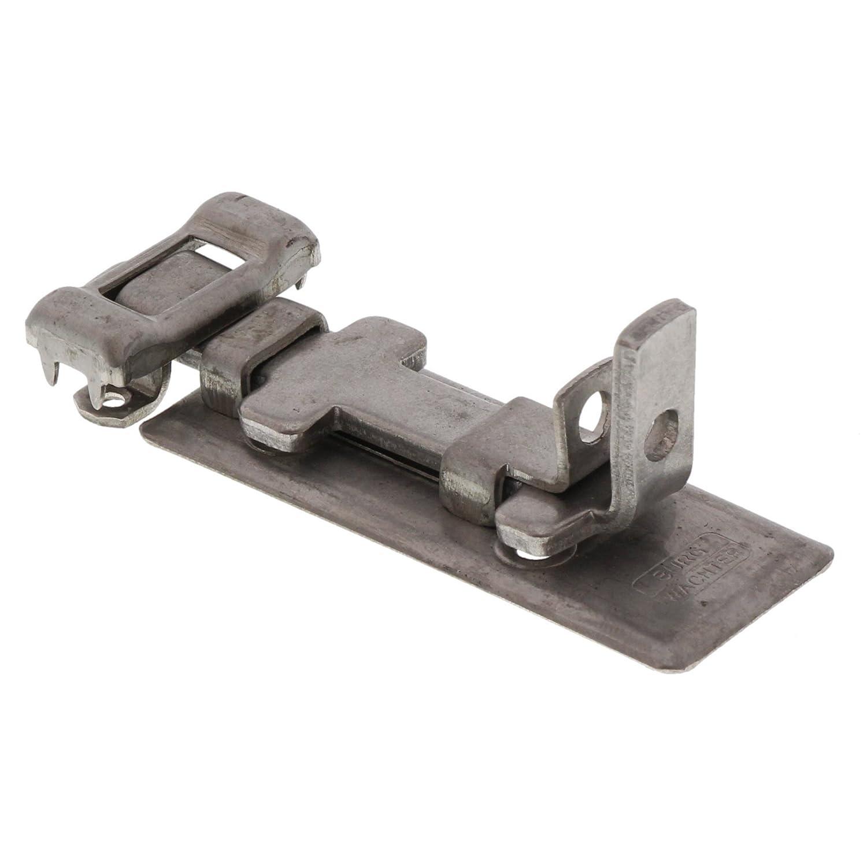 Burg-W/ächter Dispositif de s/écurit/é pour cadenas Pour portes planes Verrou en acier inoxydable R 60 Ni SB