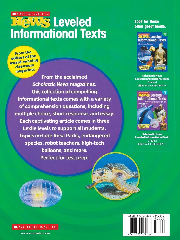 Amazon Scholastic News Leveled Informational Texts