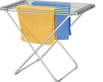 AC112 100W Gris secadora eléctrica para toallas - Secador de toallas (220-240): Amazon.es: Hogar