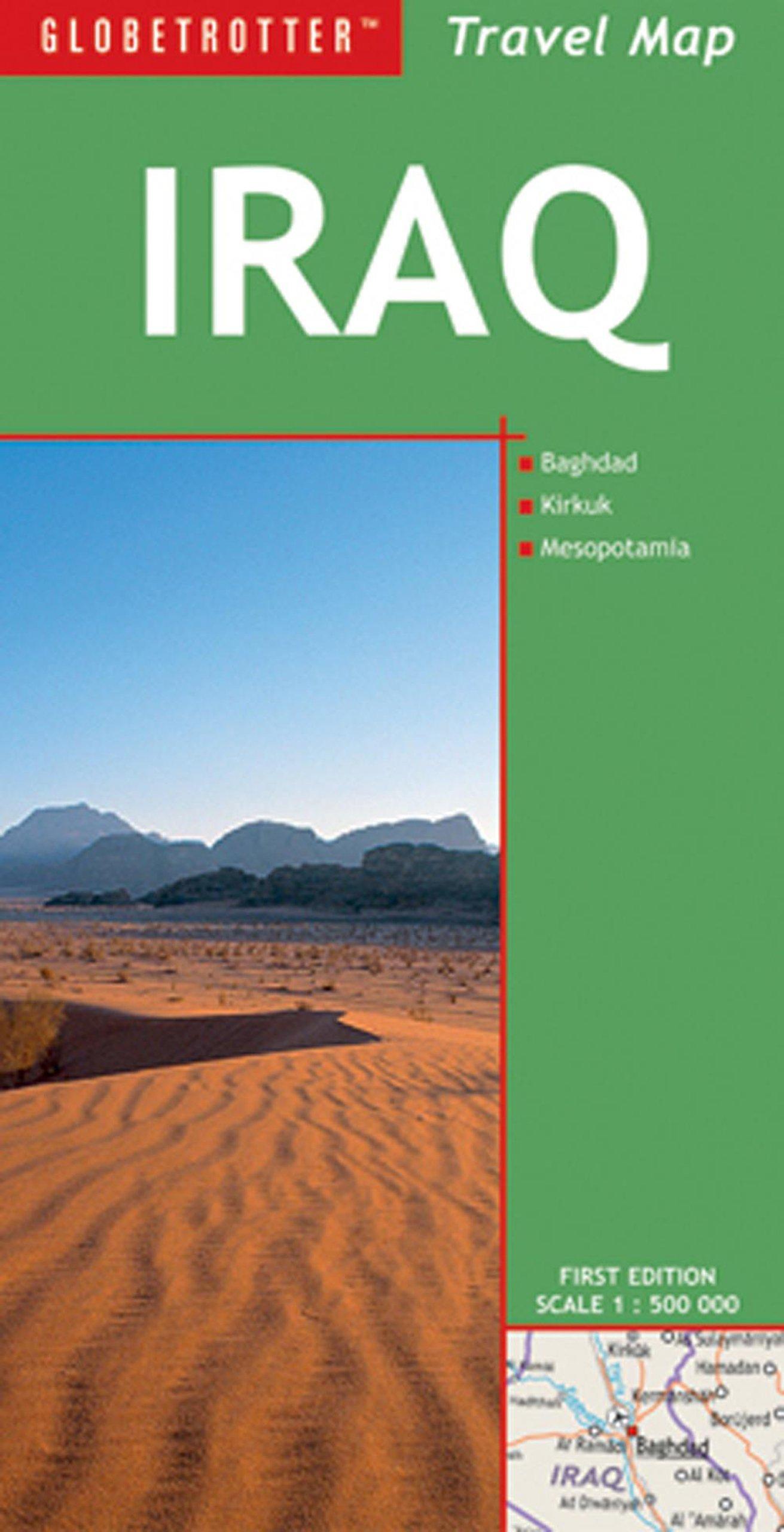 Download Travel Map Iraq (Globetrotter Travel Map) ebook