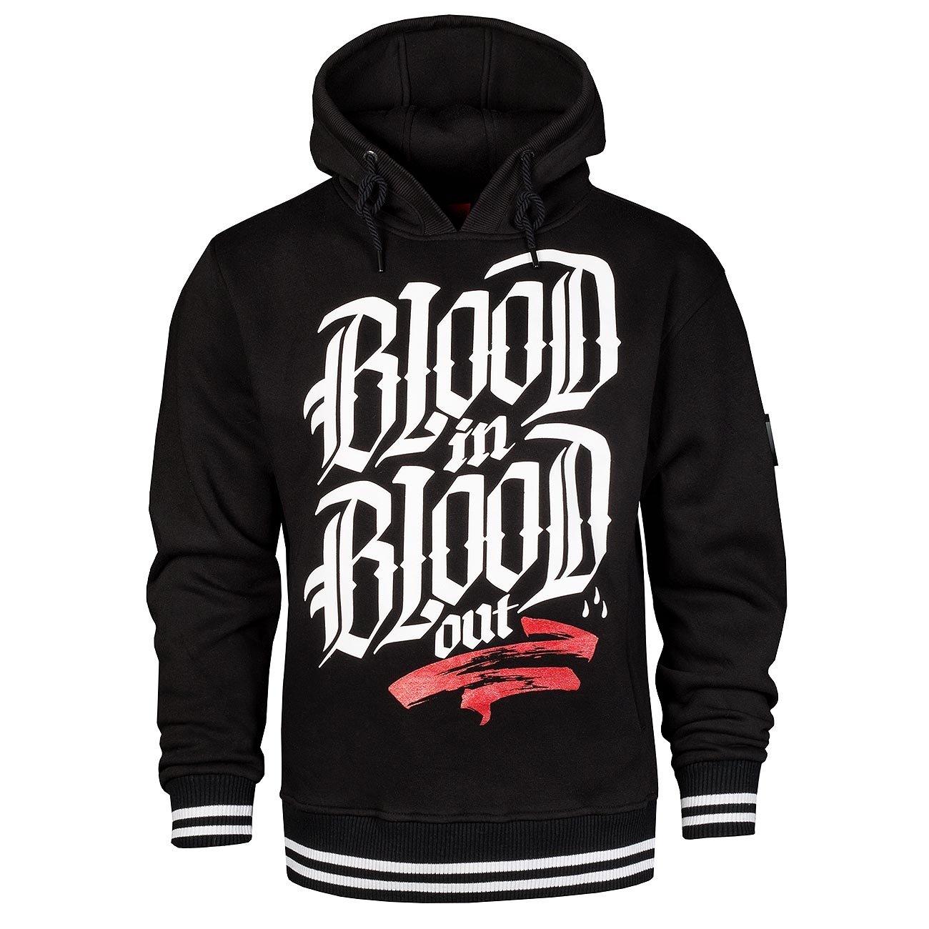 Blood Logo Hoodie Kapuzen Pullover S M L XL XXL 3XL