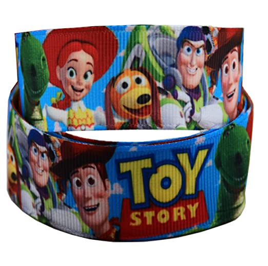 Cinta de grogrén de Toy Story de Disney Pixar de 1 m x 22 mm ...