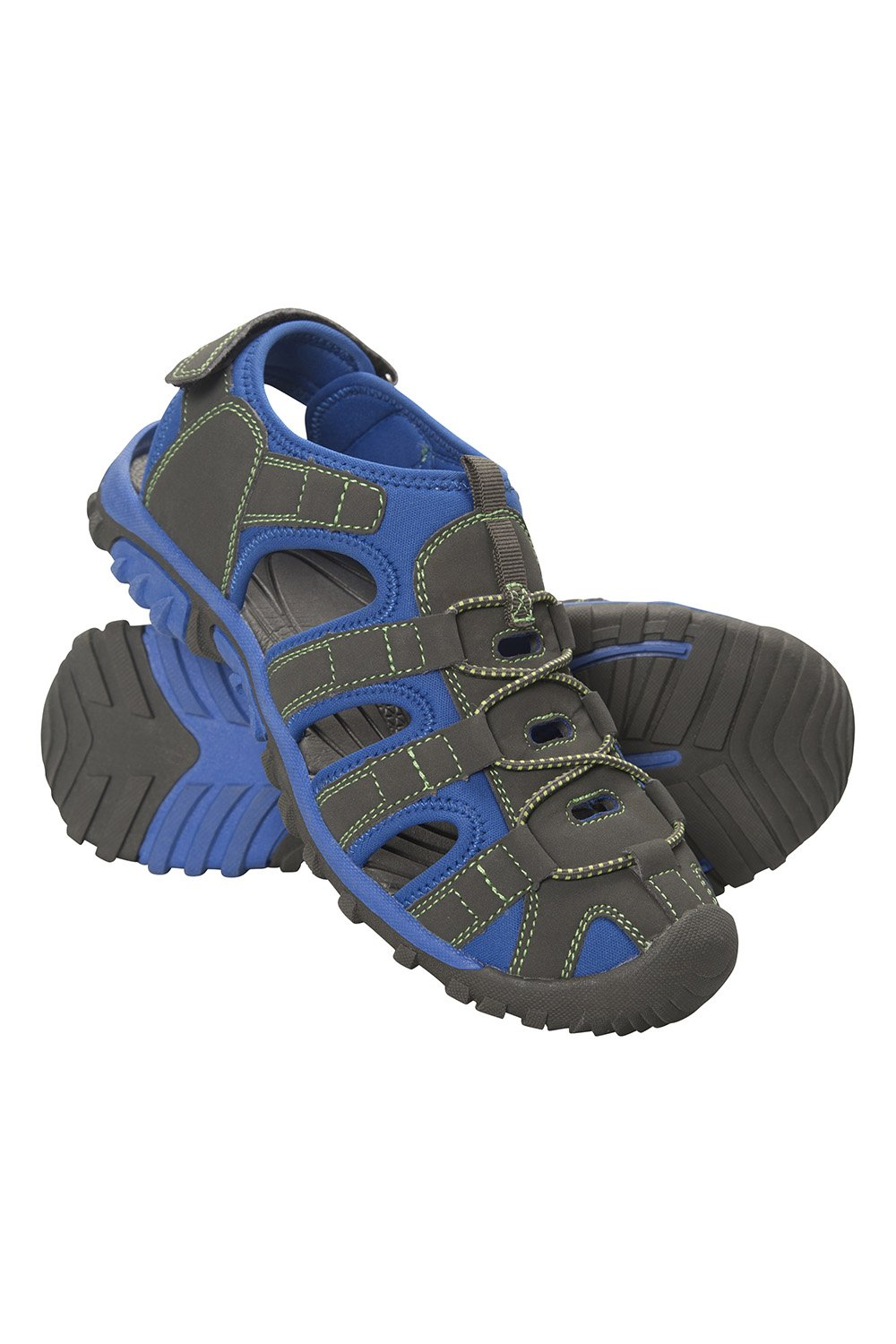 Mountain Warehouse Bay Kids Shandals - Childrens Summer Shoes Blue 1 Child US