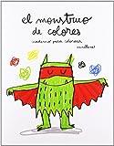 El monstruo de colores. Cuaderno para colorear (Cuentos (flamboyant))