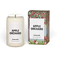 Homesick Scented Candle, Apple Orchard - Scents of Red Apple, Madarin, Cinnamon, 13.75 oz