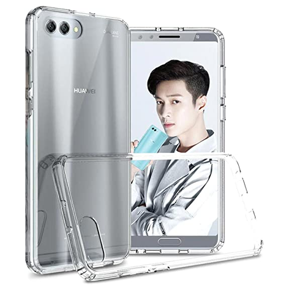 best sneakers bedb2 7b36c Honor View 10 Case, Huawei Honor V10 Case, CoverON ClearGuard Series Hard  Slim Fit Phone Cover with TPU Tack Grips for The Huawei Honor View 10 / ...