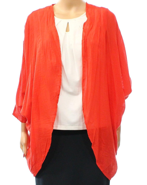 DKNY Jeans Women's Small LSheer Lace Back Kimono