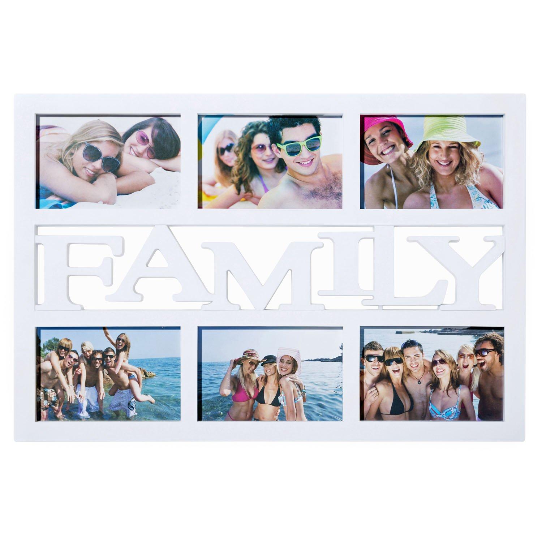 Amazon.de: Family Bilderrahmen Fotorahmen Bildergalerie Foto-Collage ...