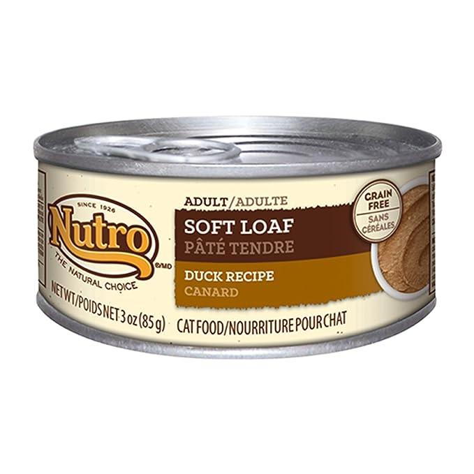 Nutro Natural Choice - Pato de Pan Suave para Gato Adulto (24 x 3 ...