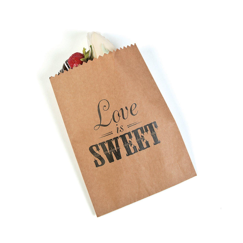 Fun365 Love is Sweet Treat Bags